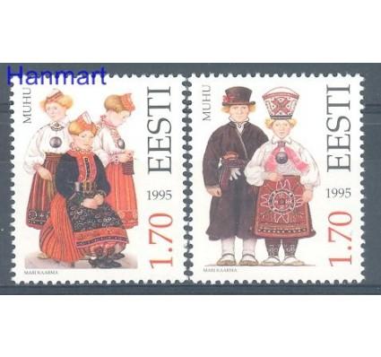 Znaczek Estonia 1995 Mi 248-249 Czyste **
