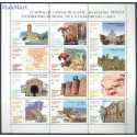 Hiszpania 2001 Mi ark 3678-3689 Czyste **