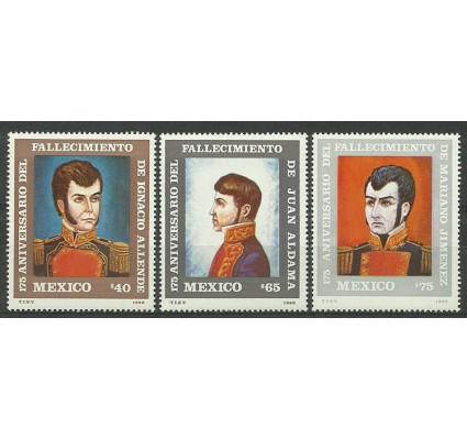 Znaczek Meksyk 1986 Mi 1990-1992 Czyste **