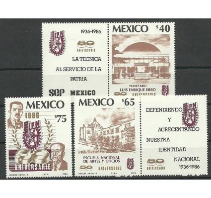 Znaczek Meksyk 1986 Mi zf 1977-1979 Czyste **