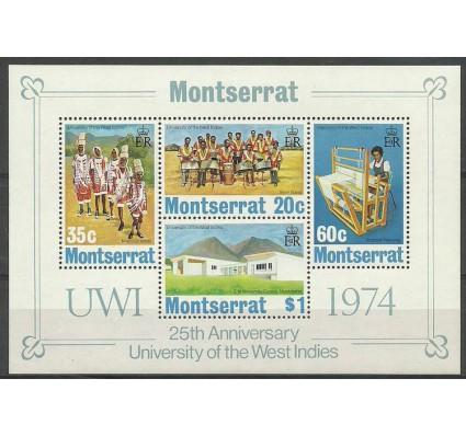 Znaczek Montserrat 1974 Mi bl 4 Czyste **