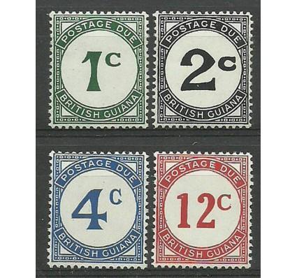 Znaczek Gujana 1940 Mi por 1-4 Czyste **