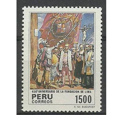 Znaczek Peru 1985 Mi 1291 Czyste **