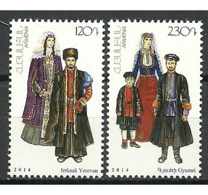 Znaczek Armenia 2014 Mi 920-921 Czyste **