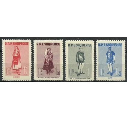 Znaczek Albania 1961 Mi 623-626 Czyste **