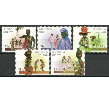 Znaczek Angola 2001 Mi 1648-1652 Czyste **