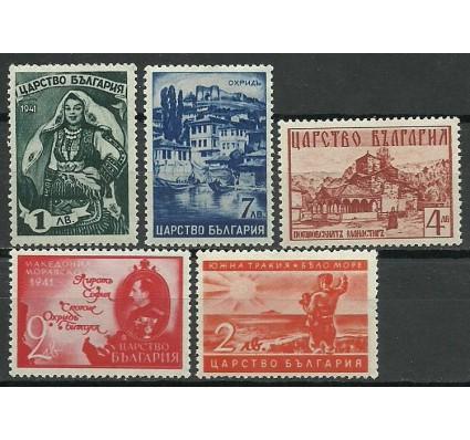 Znaczek Bułgaria 1941 Mi 432-436 Czyste **