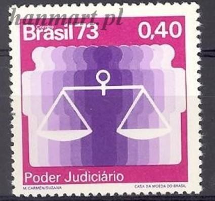 Brazylia 1973 Mi 1413 Czyste **