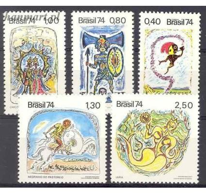 Brazylia 1974 Mi 1420-1424 Czyste **