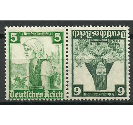 Znaczek Deutsches Reich / III Rzesza 1935 Mi 590-591 Czyste **