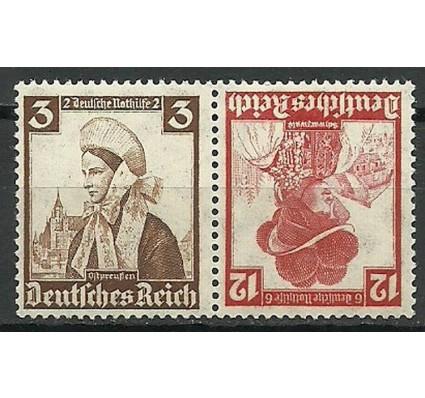 Znaczek Deutsches Reich / III Rzesza 1935 Mi 588+593 Czyste **
