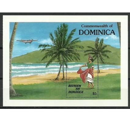 Znaczek Dominika 1988 Mi bl 138 Czyste **