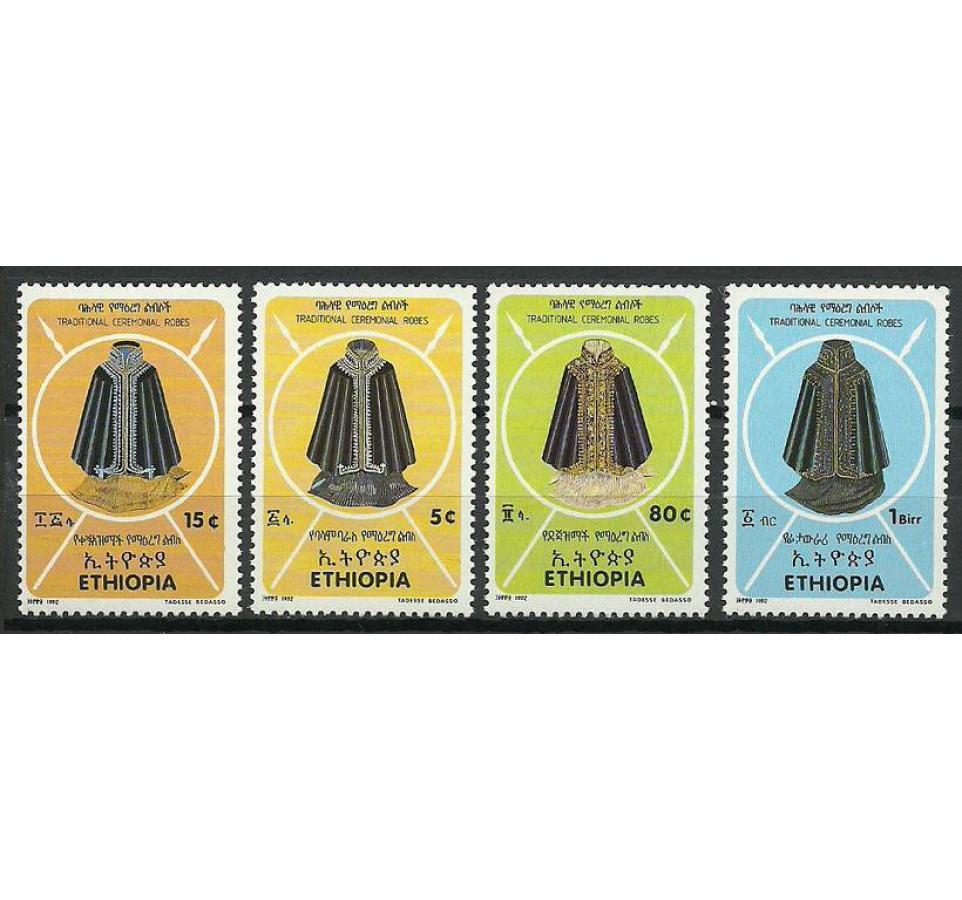 Etiopia 1992 Mi 1405-1408 Czyste **