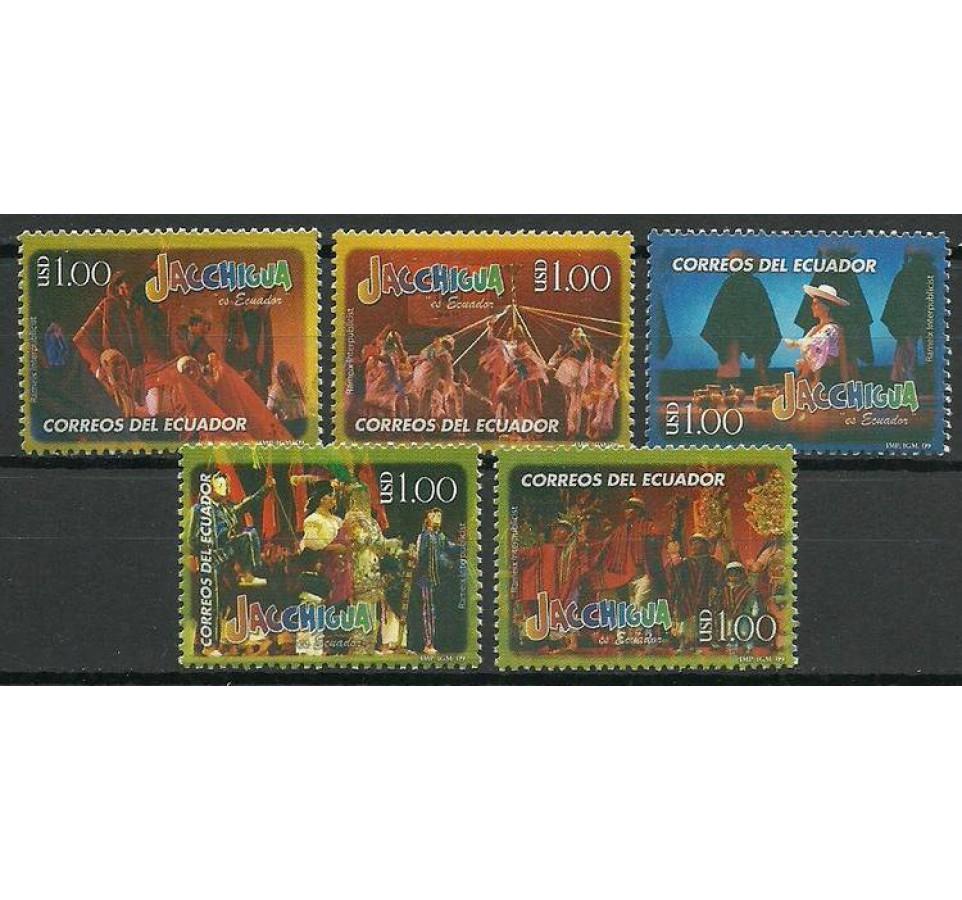 Ekwador 2009 Mi 3120-3124 Czyste **