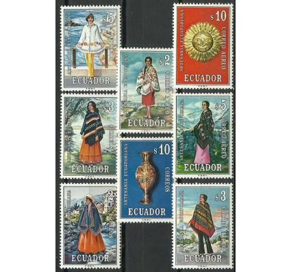 Znaczek Ekwador 1972 Mi 1574-1581 Czyste **