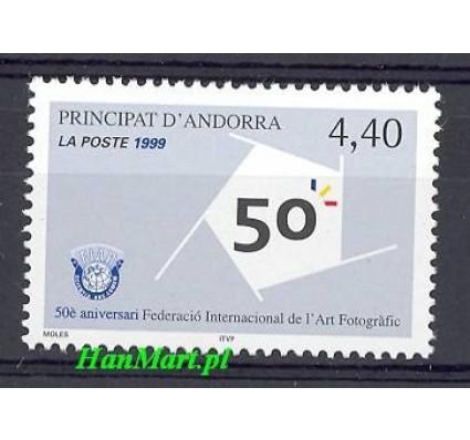 Znaczek Andora Francuska 1999 Mi 542 Czyste **