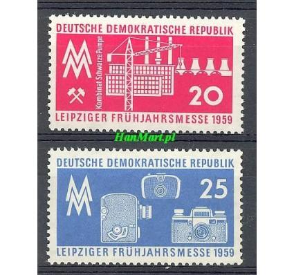 Znaczek NRD / DDR 1959 Mi 678-679 Czyste **