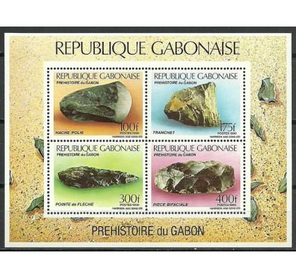 Znaczek Gabon 1990 Mi bl 65 Czyste **