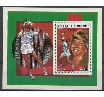 Znaczek Republika Środkowoafrykańska 1988 Mi ein bl 432 Czyste **
