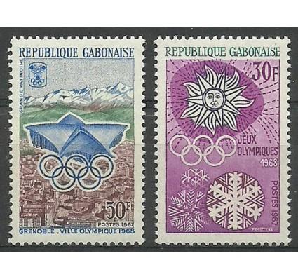 Znaczek Gabon 1967 Mi 271-272 Czyste **