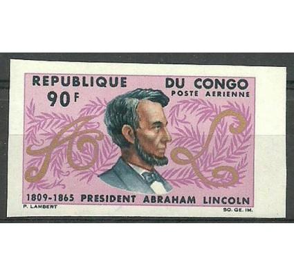 Znaczek Kongo 1965 Mi 84B Czyste **