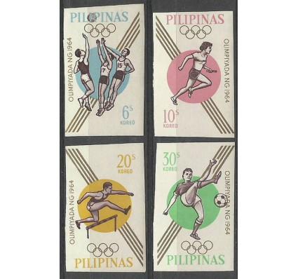Znaczek Filipiny 1964 Mi 762-765B Czyste **