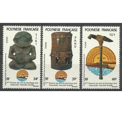 Znaczek Polinezja Francuska 1980 Mi 309-311 Z podlepką *