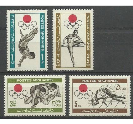 Znaczek Afganistan 1964 Mi 923-926 Czyste **