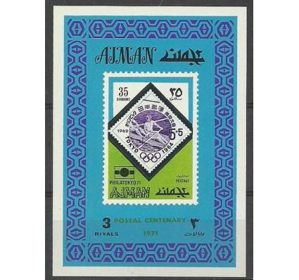 Znaczek Ajman / Adżman 1971 Mi ein bl 873B Czyste **