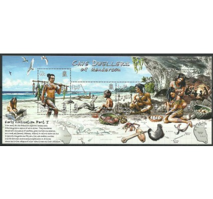 Znaczek Pitcairn 2006 Mi bl 44 Czyste **
