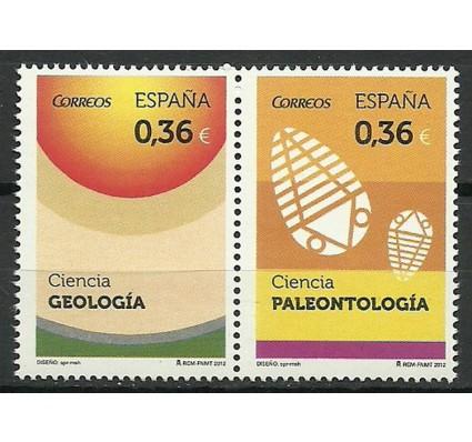 Znaczek Hiszpania 2012 Mi 4710-4711 Czyste **