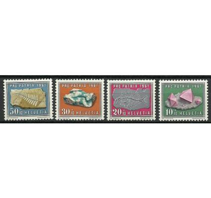 Znaczek Szwajcaria 1961 Mi 732-735 Czyste **
