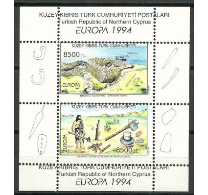 Znaczek Cypr Północny 1994 Mi bl 13err Czyste **