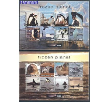 Znaczek Brytyjskie Terytorium Antarktyczne 2011 Mi ark 545-560 Czyste **