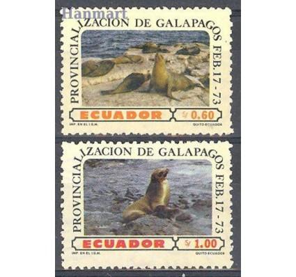 Znaczek Ekwador 1973 Mi 1611+1613 Czyste **