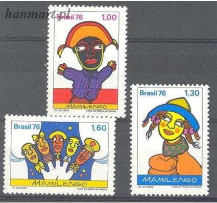 Znaczek Brazylia 1976 Mi 1554-1556 Czyste **