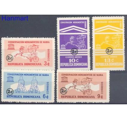 Znaczek Dominikana 1964 Mi 823-827 Czyste **