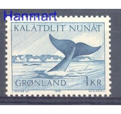 Znaczek Grenlandia 1970 Mi 75 Czyste **