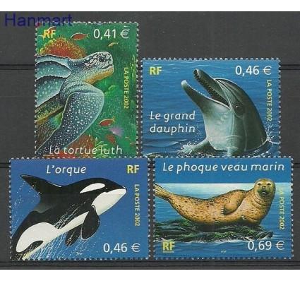Znaczek Francja 2002 Mi 3622-3625 Czyste **