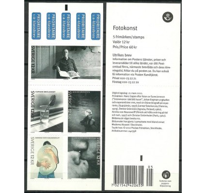 Znaczek Szwecja 2012 Mi mh 2876-2880 Czyste **