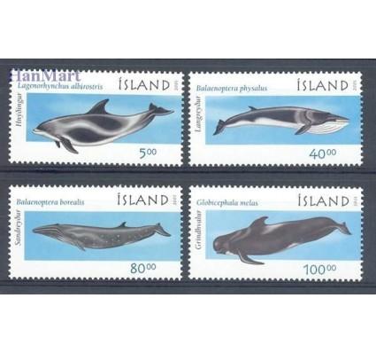 Znaczek Islandia 2001 Mi 989-992 Czyste **