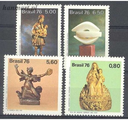 Znaczek Brazylia 1976 Mi 1570-1573 Czyste **