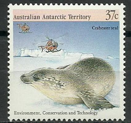 Znaczek Australijskie Terytorium Antarktyczne 1988 Mi 81 Czyste **