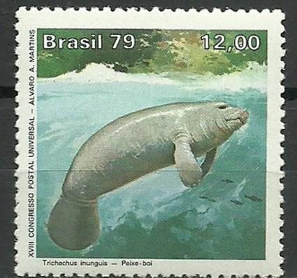 Znaczek Brazylia 1979 Mi 1710 Czyste **