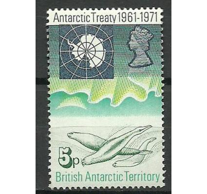 Znaczek Brytyjskie Terytorium Antarktyczne 1971 Mi 41 Czyste **