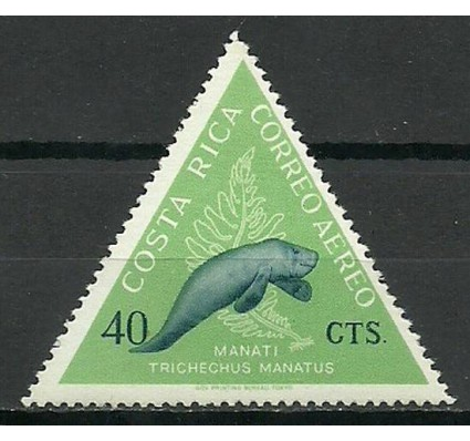 Znaczek Kostaryka 1963 Mi 617 Czyste **