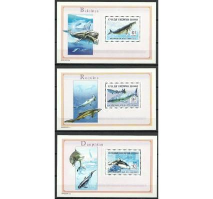 Znaczek Kongo Kinszasa / Zair 2003 Mi bl 146-148 Czyste **