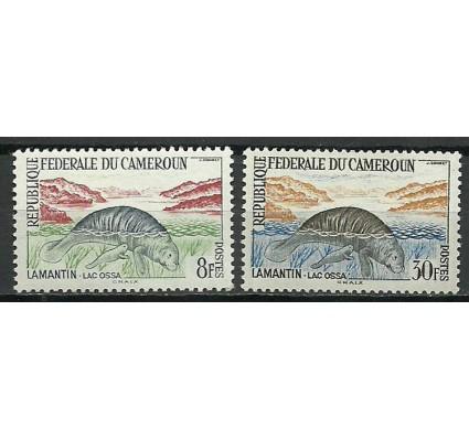Znaczek Kamerun 1962 Mi 363+368 Czyste **