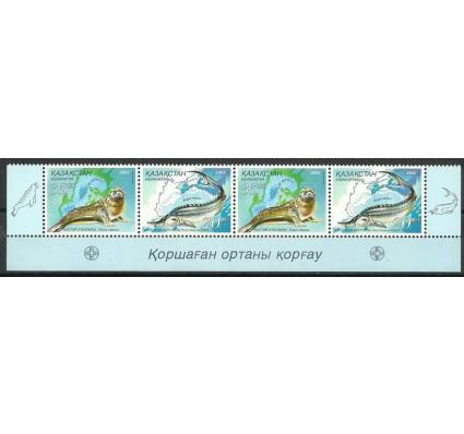 Znaczek Kazachstan 2002 Mi 394-395 Czyste **