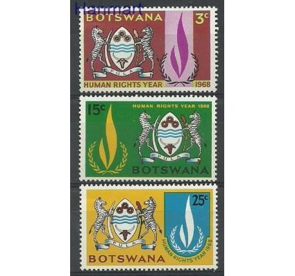 Znaczek Botswana 1968 Mi 40-42 Czyste **